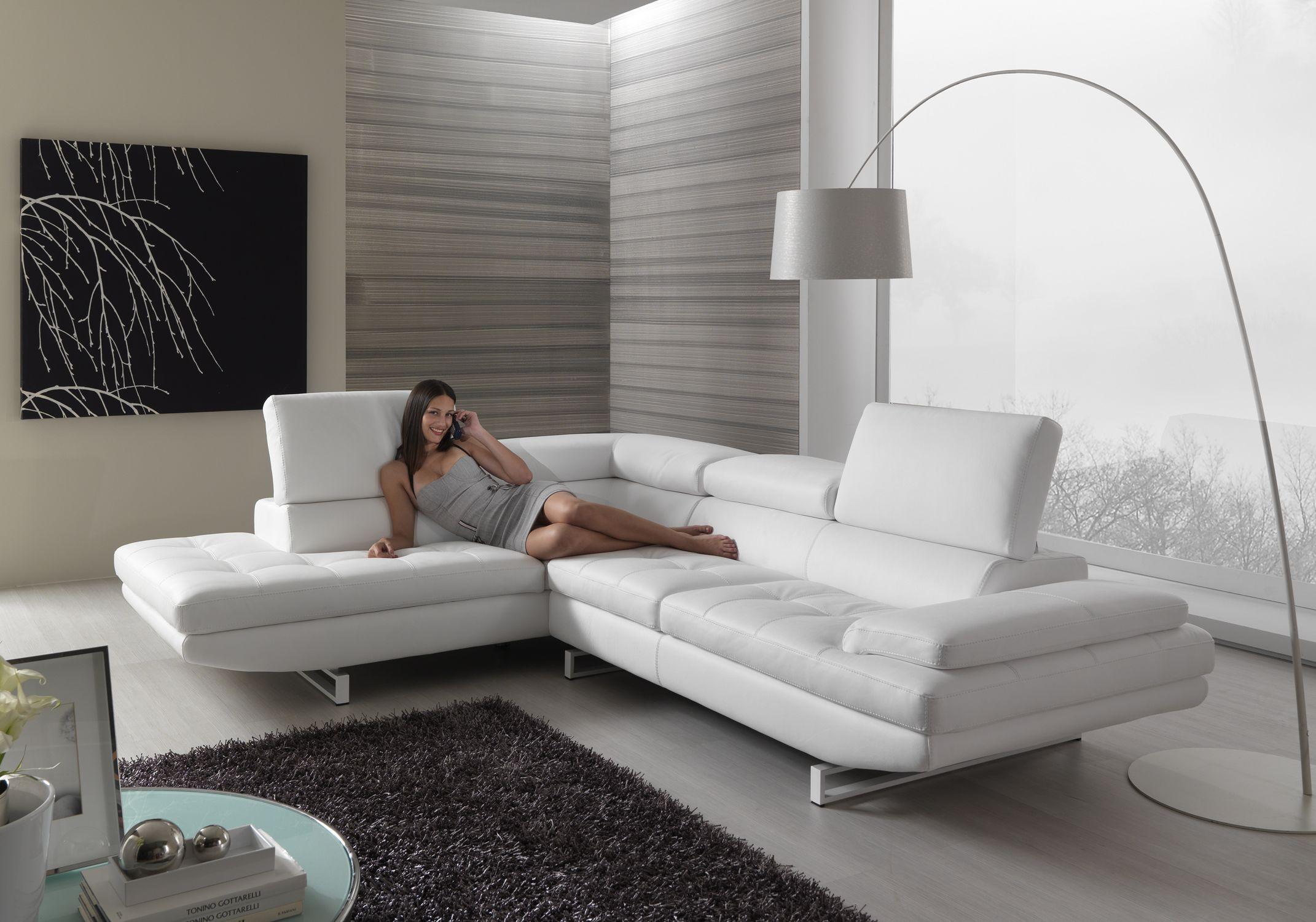 ri.me materassi molteni - vendita divani produzione propria - Reclinabile Divano Ad Angolo Chaise