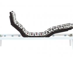 Rete-Elettrica-Ergogreen-Ultra-Flat-4-Motori-con-Alza-Testa-e-Piedi---Linea-COMFORTFLEX